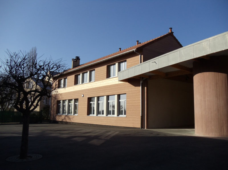 Extension du groupe scolaire, Jambville